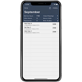 Month Screen