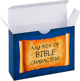 Box for Bible Characters