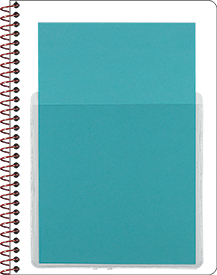 Self-Adhesive Notebook Pocket