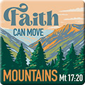Fatih Can Move Mountains Pin