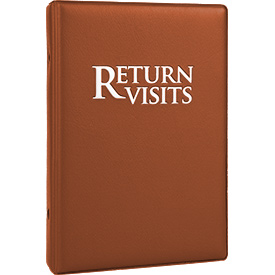 Return Visit Binder-Chestnut