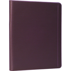 Deluxe Tablet, Magazine and Tract Holder - Plum