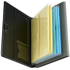 Deluxe Tablet, Magazine and Tract Holder open