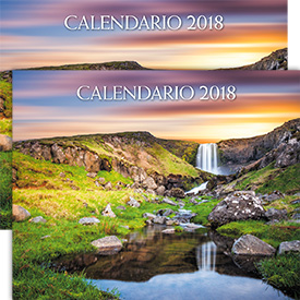 Set of 2 Spanish 2018 Yeartext Wall Calendar