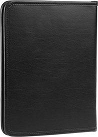 Zippered Tablet and Literature Portfolio - Black