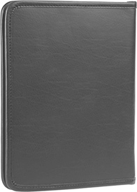 Zippered Tablet and Literature Portfolio - Gray