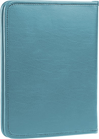 Zippered Tablet and Literature Portfolio - Turquoise