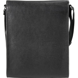 Vertical Messenger Bag Back Pocket