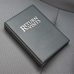 Return Visit Binder on car seat
