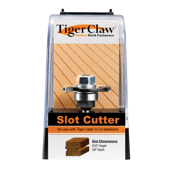 Tiger Claw Router bit groove cutter for TC-G