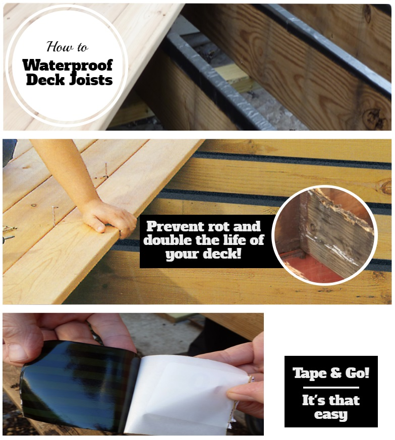 Installation instructions for Joist Tape