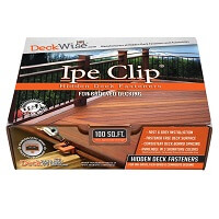 Deckwise® Ipe Clip® ExtremeKD® for 1/4