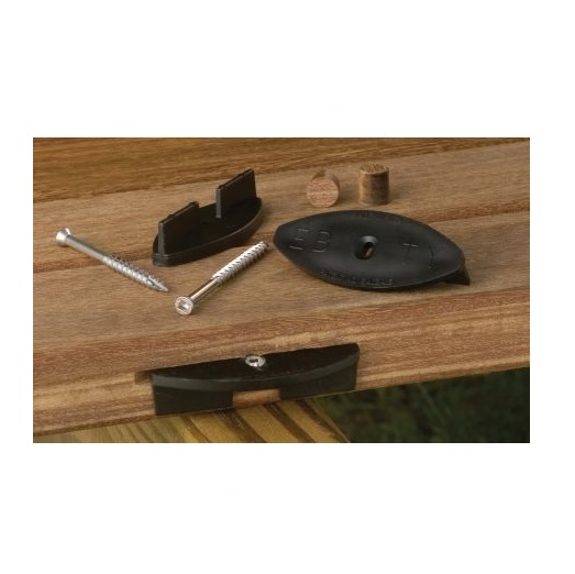 "EB-TY® LC  Hidden Deck-Fasteners, 1/4"" Spacing, 175 pc kit"
