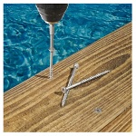 Stainless Steel Trim Screws - Salt Water Safe