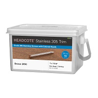 HEADCOTE® Trim Head #7 x 1-5/8""