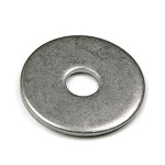 Stainless Steel Fender Washers - 1/4