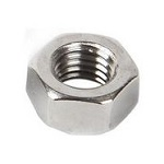 Stainless Steel Hex Nuts - 1/2
