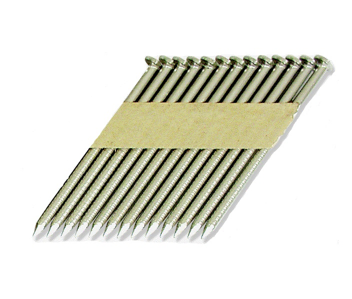 Paper Tape Clipped Head Nails - for Senco - 33-34°