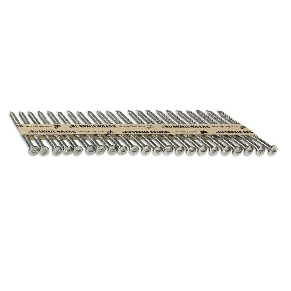 Stainless Steel joist hanger nails- head view