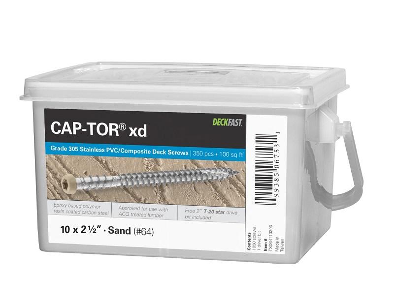 "Cap-Tor® XD - #10 x 2-1/2"" - 305 Stainless Steel"