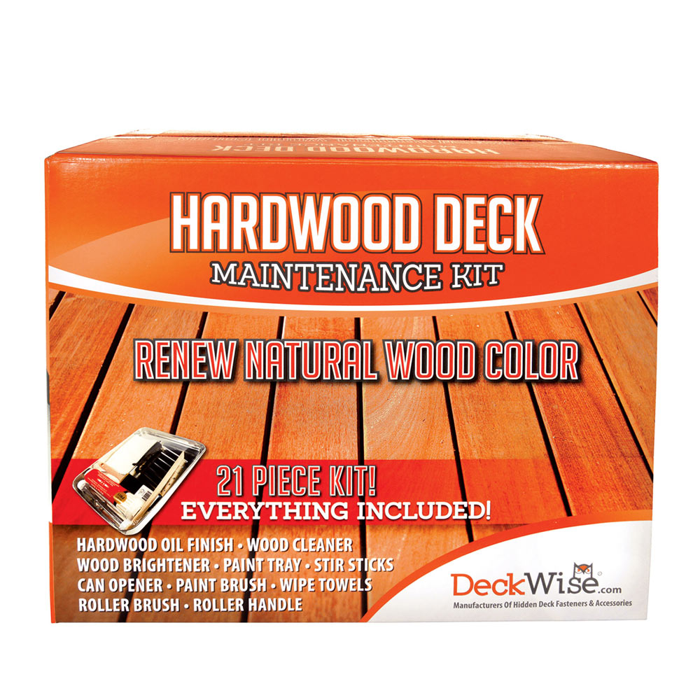 Deckwise® Hardwood Deck Maintenance Kit