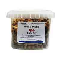 "Manasquan™ Hardwood Ipe Plugs 3/8"" diameter"