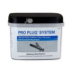 Pro Plug System Screws - 375 piece packs for 100 sq ft