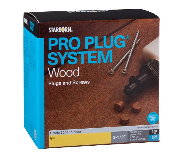 Pro Plug® System for Wood