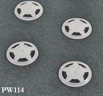 NailPro Round Plastic Washers