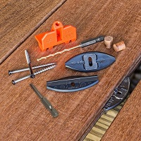Eb-Ty Premium Hidden Deck Fasteners for Hardwoods