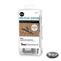Pro Plug for Trex, kit with epoxy screws