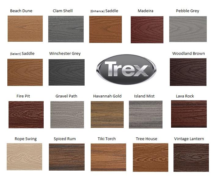 Trex Deck Colors