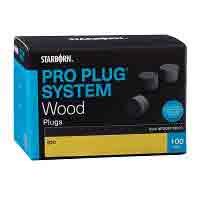"Hardwood Plugs for Pro Plug® System 5/16"" diameter, 100pcs"