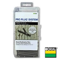 Pro Plug® System for Boral Trim - 50 Lin Ft with Epoxy Screws