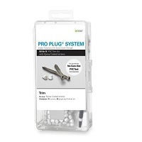Pro Plug System® for Kleer® Trim- 50 Lin FT with Epoxy Screws