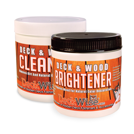 Deckwise Cleaner & Brightener Kit - 16 oz