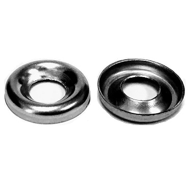 Stainless Steel Finishing Cup Washers