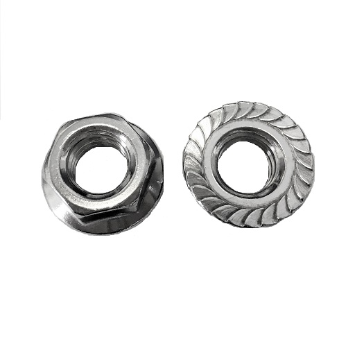 Stainless Steel Serrate Flange Nuts