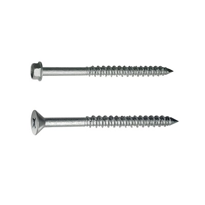 Titen® Stainless Steel Concrete and Masonry Screws