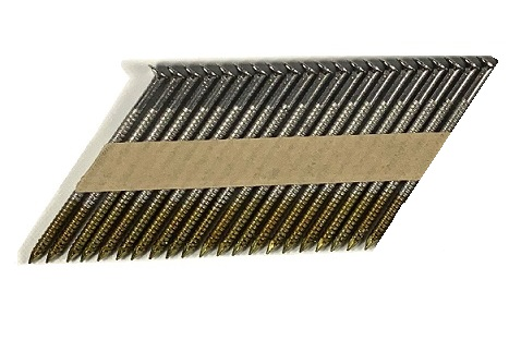 Paper Tape Offset Head Nails - for Senco - 33-34°
