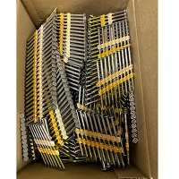 "2-1/2"" x .120"" A/T 22° Plastic Strip Nails 304SS 1893pcs"