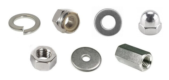 Washers & Nuts 18-8 & 316SS