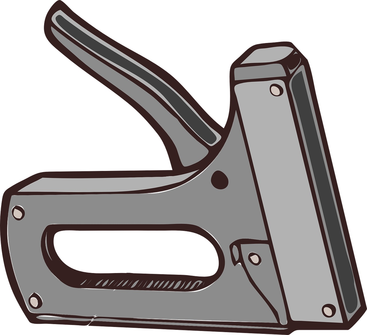 Staple Gun Reference Tool