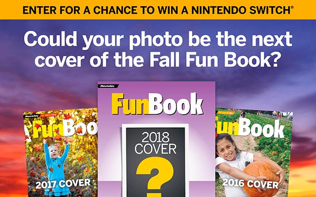 Newsday Fall Fun Book Photo Contest