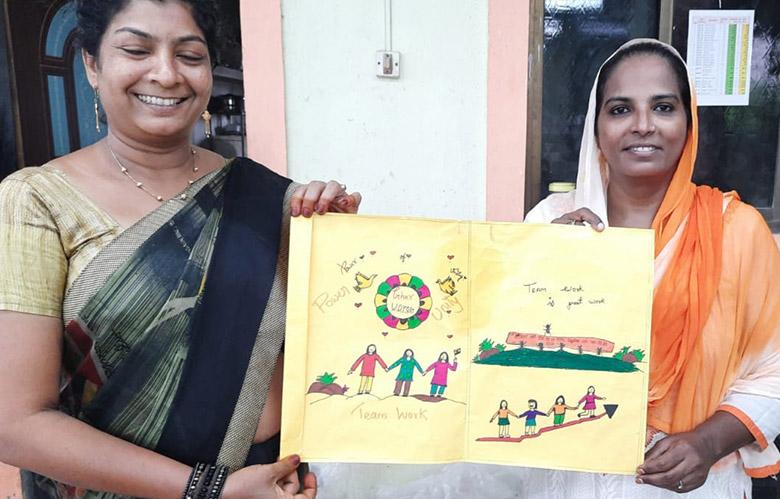 Ghar Udyog Collective artisans