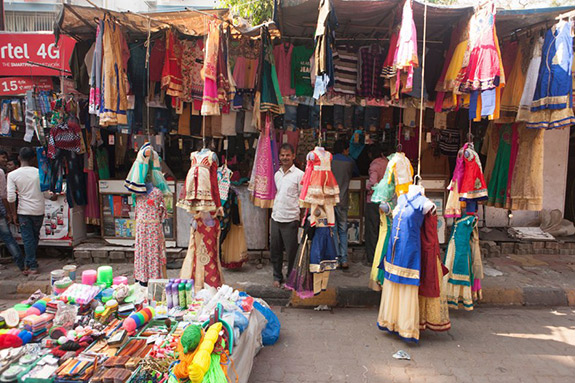 Colorful clothing for sale