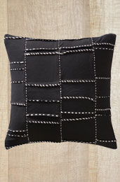 Cushion Cover -Black/White