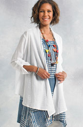 Sakina Jacket - White