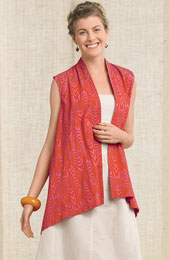 Kanpur Vest - Orange