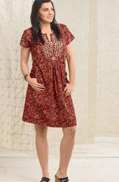 Amita Dress - Tomato